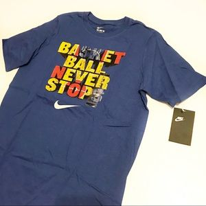 NWT Boys Nike Basketball Never Stops Tee Sz XL